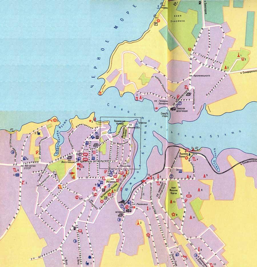 скачать севастополь карта - фото 9